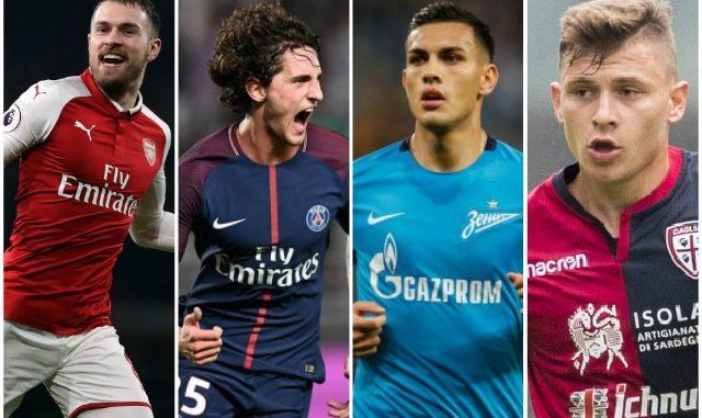 AC Milan midfield targets