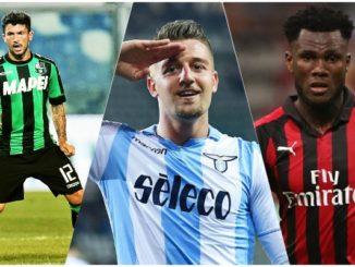 AC Milan transfer news Milinkovic Savic Sensi
