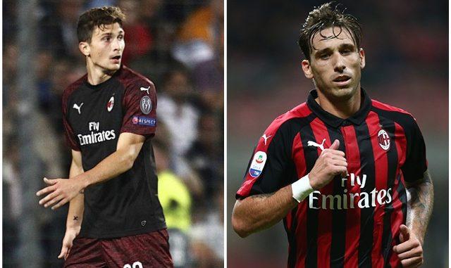 Caldara Biglia AC Milan