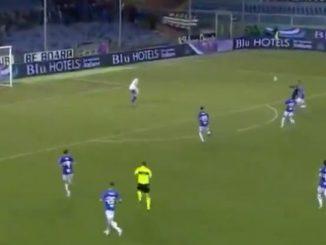 Cutrone goal Milan Sampdoria