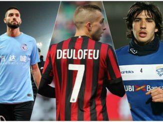 Deulofeu Carrasco Tonali AC Milan transfer news