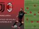 Milan XI vs Juventus Supercoppa