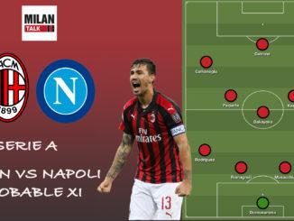 Milan XI vs Napoli
