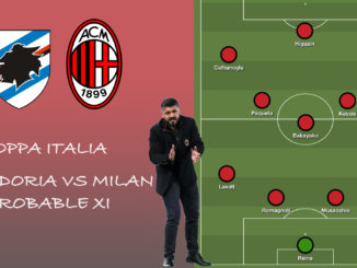 Milan XI vs Sampdoria