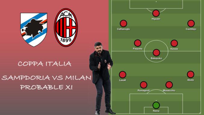 Milan XI vs Sampdoria