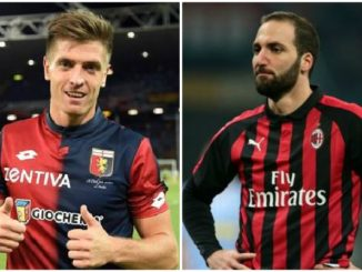Piatek Higuain AC Milan transfer news