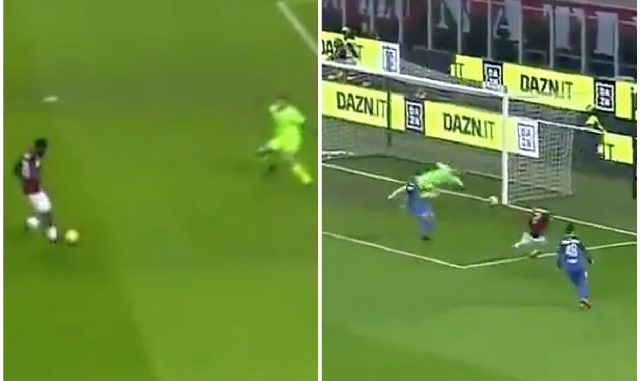 Kessie Castillejo goals Milan Empoli