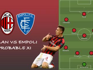 Milan XI vs Empoli