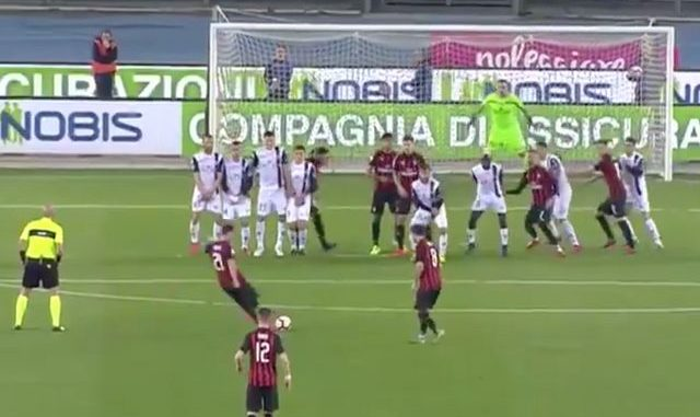 Biglia goal Milan Chievo