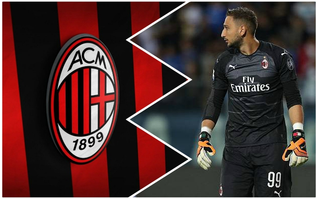 Donnarumma transfer news AC Milan