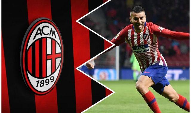 Angel Correa AC Milan transfer news