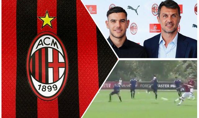 Theo Hernandez Maldini AC Milan