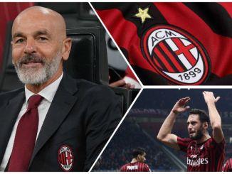 Pioli Calhanogli AC Milan Lecce
