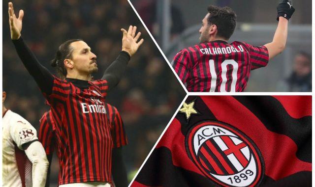 Ibrahimovic Calhanoglu Milan Torino