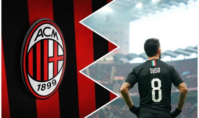Suso AC Milan Sampdoria