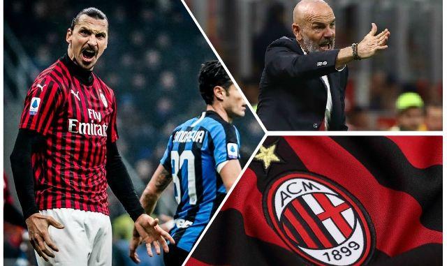 Ibrahimovic Pioli Milan Inter