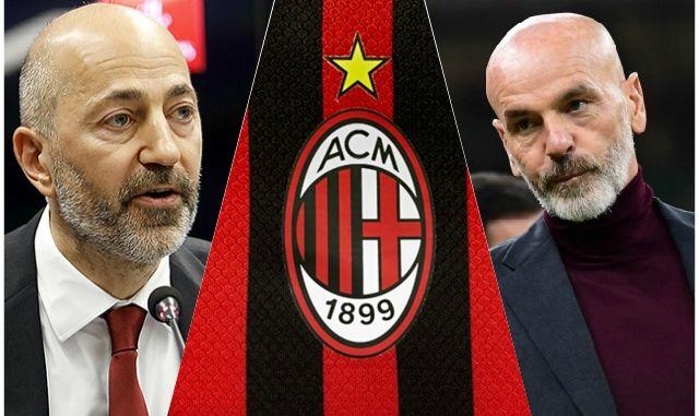 Gazidis Pioli AC Milan