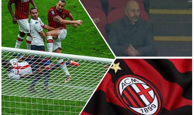 Ibrahimovic Gazidis Milan Genoa