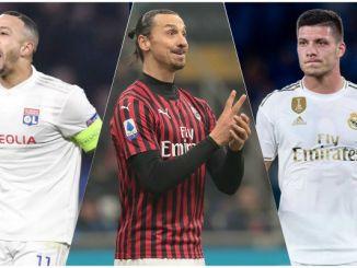 Ibrahimovic Depay Jovic Milan transfer news