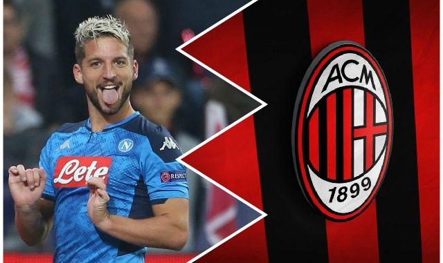 Mertens AC Milan transfer news